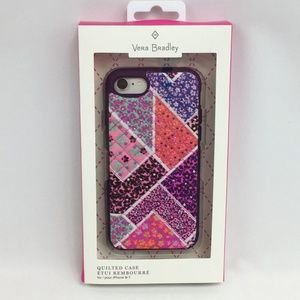 Vera Bradley Case iPhone 8 / 7 Quilted Floral New